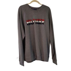 Tommy Hilfiger Embroidered Spellout Sweatshirt